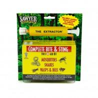 Sawyer B6B - Extractor Bite & Sting Kit. Bee & Wasp Stings. Mosquito & Snake Bites