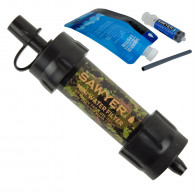 Sawyer SP107 - Camo Mini Water Filtration System